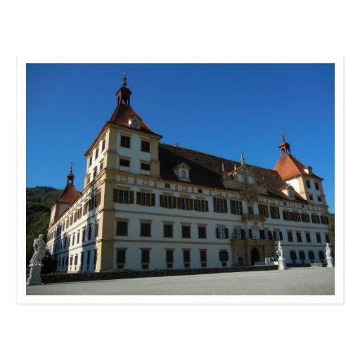 Postal - Schloss Eggenberg, Graz, Austria