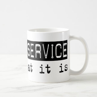 Postal Service It Is Classic White Coffee Mug