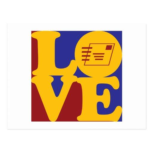 Postal Service Love Postcard