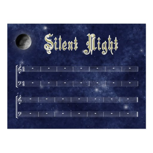 Postal silenciosa de la noche