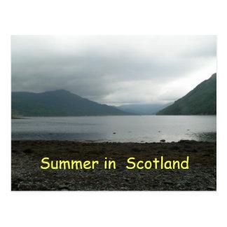Postal soleada de Escocia