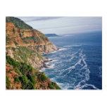 Postal surafricana de la costa
