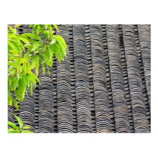 Postal tejada del tejado