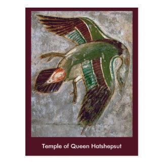 Postal: Templo de la reina Hatshepsut