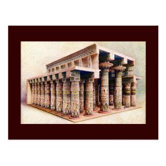 Postal - templo egipcio antiguo