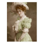 Postal teñida Edwardian 23 del Victorian del vinta