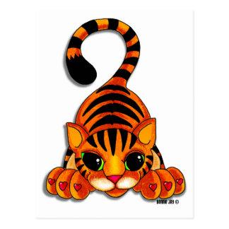 Postal - Tiggy el tigre