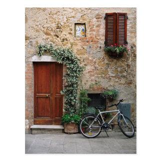 Postal toscana de la bicicleta