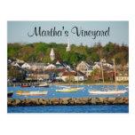 Postal total de Cape Cod del puerto del Martha's V