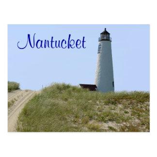Postal total del faro de Cape Cod Nantucket