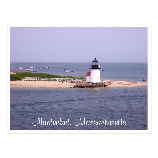 Postal total del faro del punto de Nantucket Brand