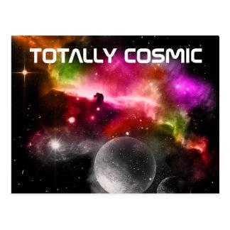Postal totalmente cósmica
