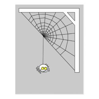 Postal traviesa de la araña
