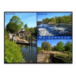 Postal triple de la visión de Maidenhead