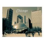 Postal turística de Chicago