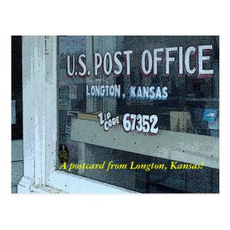 Postal:  ¡Una postal de Longton, Kansas!