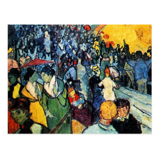 Postal: Van Gogh - la arena en Arles