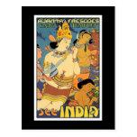 Postal: Vea la India