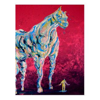 Postal venosa del caballo
