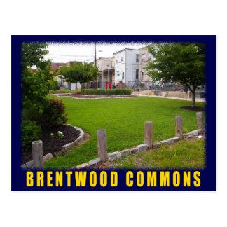 Postal verde de Brentwood del espacio de Baltimore