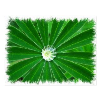 Postal verde de la energía