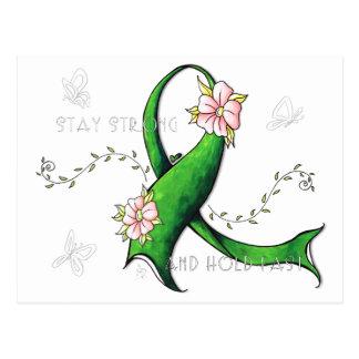 Postal verde de la enfermedad de Lyme de la cinta