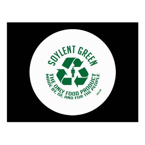 Postal verde de Soylent
