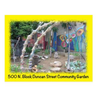 Postal verde del St de Duncan del espacio de Balti