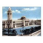 Postal vieja - Argelia - Orán - ferrocarril