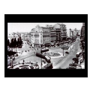 Postal vieja, Belgrado, Terazije en 1939