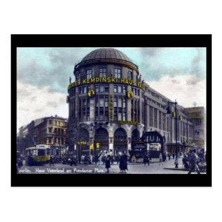 Postal vieja - Berlín, Potsdamer Platz