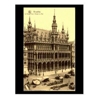 Postal vieja - Bruselas, Maison du Roi