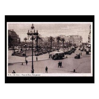 Postal vieja - Buenos Aires, la Argentina