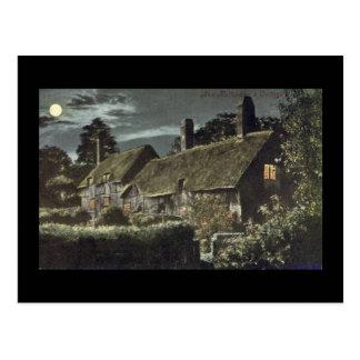 Postal vieja, cabaña de Anne Hathaway, Shottery