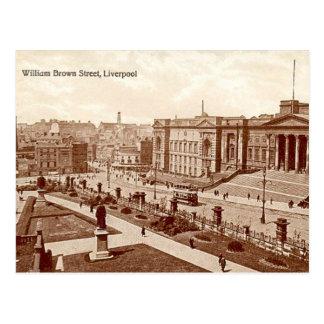 Postal vieja - calle de Guillermo Brown, Liverpool