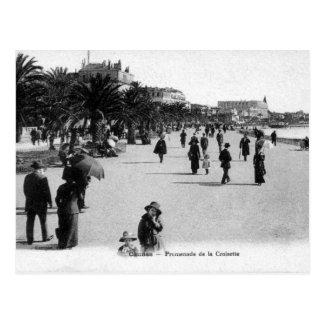 Postal vieja - Cannes, Promenade de la Croisette