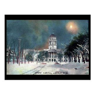 Postal vieja - capitolio del estado, Lincoln, Nebr