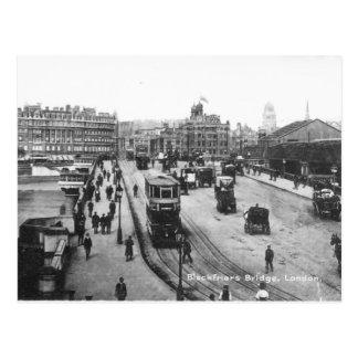 Postal vieja de Londres - puente de Blackfriars