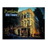 Postal vieja de Portland de la ciudad