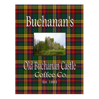 Postal vieja del Co. del café del castillo de Buch