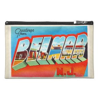 Postal vieja del viaje del vintage de Belmar New