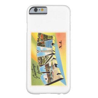 Postal vieja del viaje del vintage de Rahway New Funda Barely There iPhone 6
