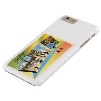 Postal vieja del viaje del vintage de Rahway New Funda Barely There iPhone 6 Plus