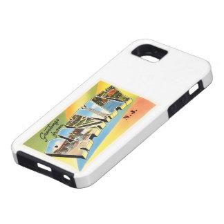 Postal vieja del viaje del vintage de Rahway New Funda Para iPhone SE/5/5s