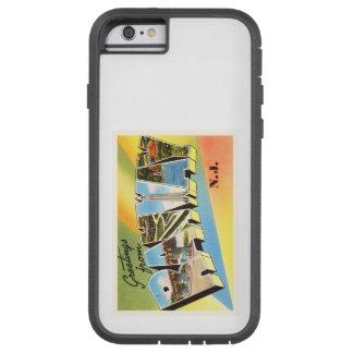 Postal vieja del viaje del vintage de Rahway New Funda Tough Xtreme iPhone 6