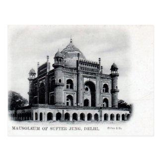Postal vieja - Delhi, la India
