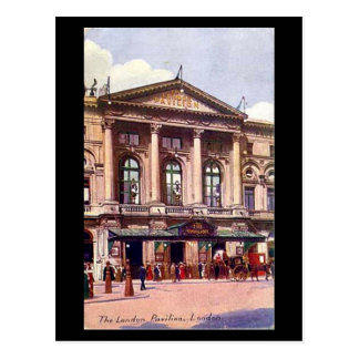 Postal vieja - el pabellón de Londres