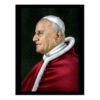 Postal vieja - el papa Juan XXIII