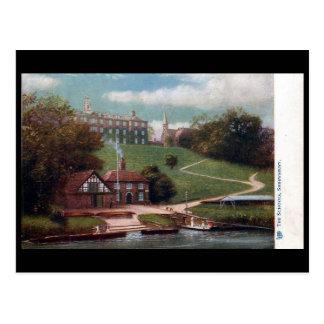Postal vieja - escuela de Shrewsbury, Shropshire