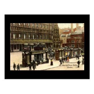 Postal vieja, estación cruzada de Charing, Londres